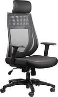 Кресло для домашнего кабинета Barsky Team Black/Grey TBG-01