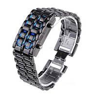 Часы Iron Samurai Черный с синим, фото 1