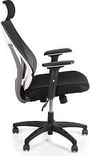 Кресло для домашнего кабинета Barsky Team White/Grey TWG-01, фото 2