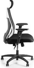 Кресло для домашнего кабинета Barsky Team White/Grey TWG-01, фото 3