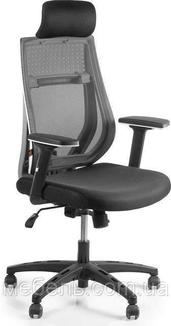 Кресло для домашнего кабинета Barsky Team White/Grey TWG-01
