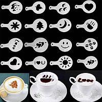 трафарети для прикраси кави і випічки