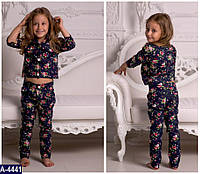 Костюм с брюками для девочки
