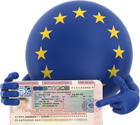 Виза в Европу, бизнес и рабочие. Приглашение в Европу.