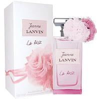 Женская парфюмированная вода Jeanne Lanvin La Rose (чувственный аромат с искрящимися нотами мандарина)  копия