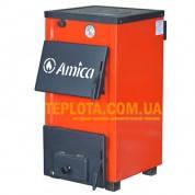 Твердотопливный котел с варочной плитой Amica Optima AO18P (мощность 18 кВт)
