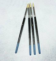 Кисть для рисования №5 белая (товар при заказе от 200 грн)