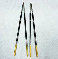Кисть для рисования №3 темная (товар при заказе от 200 грн)