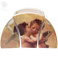 Набор вазочек «Амур и Психея», h-21 см