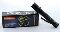 Ручной металлический фонарик + отпугиватель  - Police BL-1102 200000W