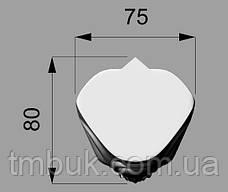 Ножка резная из дерева для тумб, кресел и шкафов. Опора мягкой и корпусной мебели кабриоль. 110 мм, фото 3