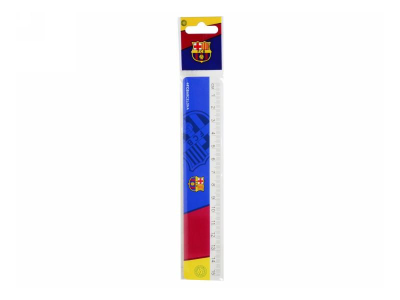 Линейка пласт., 15см Barcelona /1/48/720/(BC14-090K)