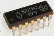 Микросхема К155ТМ2