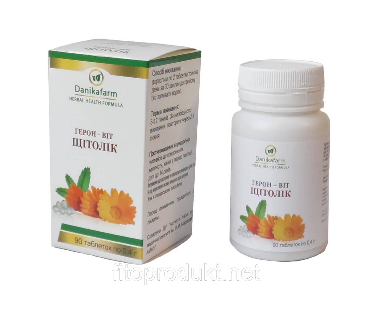 Щитолек для щитовидної залози Герон-віт 90 таблеток Даникафарм