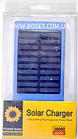 Портативное зарядное устройство на солнечной батарее Power Bank Solar Charger 30000 mAh., фото 1