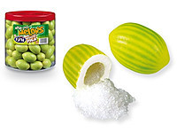 Жевательная резинка без глютена Macedonia GIANT  GIANT Melons FINI , 18 гр х 75 шт Испания