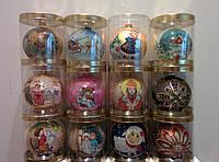 Елочные шары прмиум класса (стекло, ручная роспись), фото 1