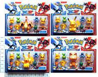 """Покемоны BT-PG-0015 """"Pokemon XY"""" 9 фигурок по 2,5"""" и 4"""" 4в.лист ш.к./192/(BT-PG-0015)"""