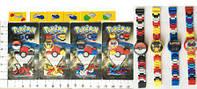 "Часы-конструктор BT-PG-0012 ""Pokemon GO"" 4в.лист ш.к./960/(BT-PG-0012)"