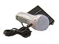 Лампа фонарь GD-652 с солнечной панелью, фото 1