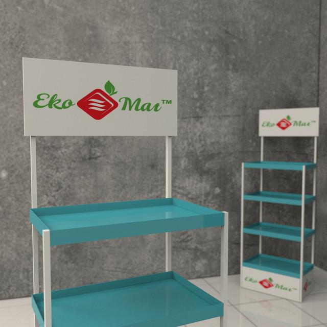 Рекламные стойки queco