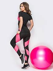 """Костюм для фитнеса """"TETRA Pink"""", фото 3"""