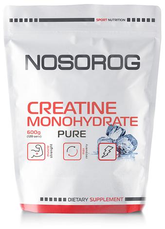 Креатин моногидрат в порошке NOSOROG Nutrition Creatine Monohydrate 600 g, фото 2