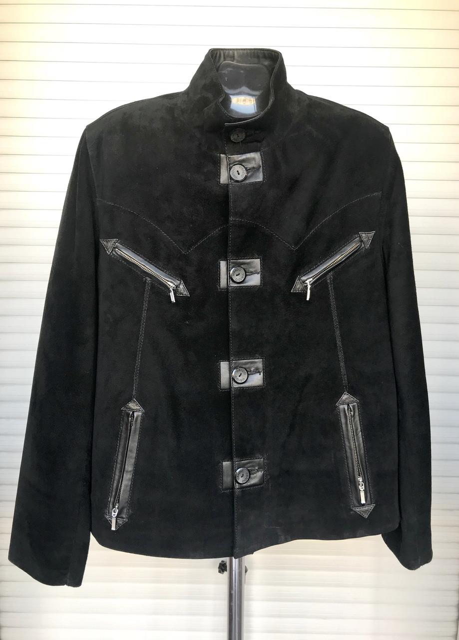 Куртка мужская замша натуральная короткая