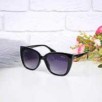 Очки женские от солнца в стиле Dior черные 301674, магазин очков