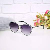 Очки женские от солнца в стиле Chane черные 301675, магазин очков