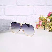 Очки женские от солнца в стиле LV синие 301676, магазин очков