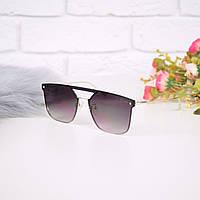 Очки женские от солнца в стиле Dior коричневые 301678, магазин очков