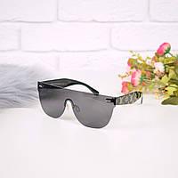 Очки женские от солнца в стиле LV черные 301682 магазин очков