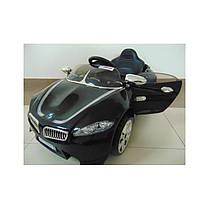 Электромобиль детский машина автомобиль для детей Cabrio B3 черный, фото 3
