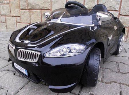 Электромобиль детский машина автомобиль для детей Cabrio B3 черный, фото 2