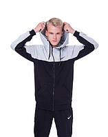 Мужская молодежная спортивная кофта реглан, олимпийка, мастерка Nike!