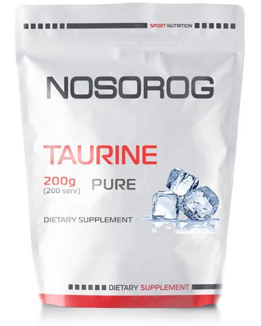 NOSOROG Nutrition Taurine 200 g, фото 2