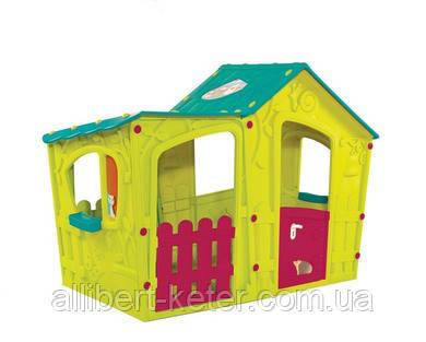 Будиночок MAGIC VILLA HOUSE світло -зелений (Keter)