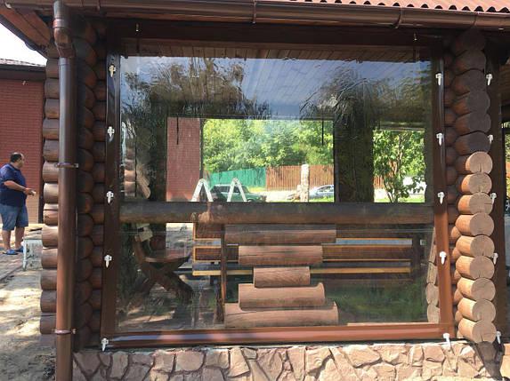 Прозрачные шторы для беседок, фото 2