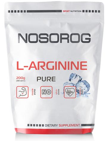 NOSOROG Nutrition L-Arginine 200 g, фото 2