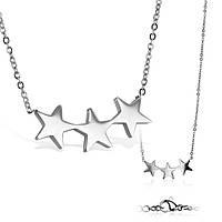 Колье стальное «Созвездие»