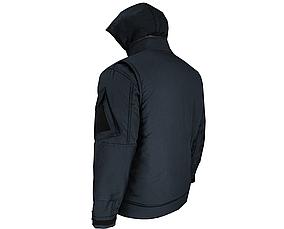 """Куртка (бушлат) зимовий """"Мілітарі"""" Темно-синій, фото 2"""