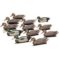 Набор Hunting Birdland :3 селезня, 9 уток, якорные устройства + сертификат на 150 грн в подарок (код 186-98163)