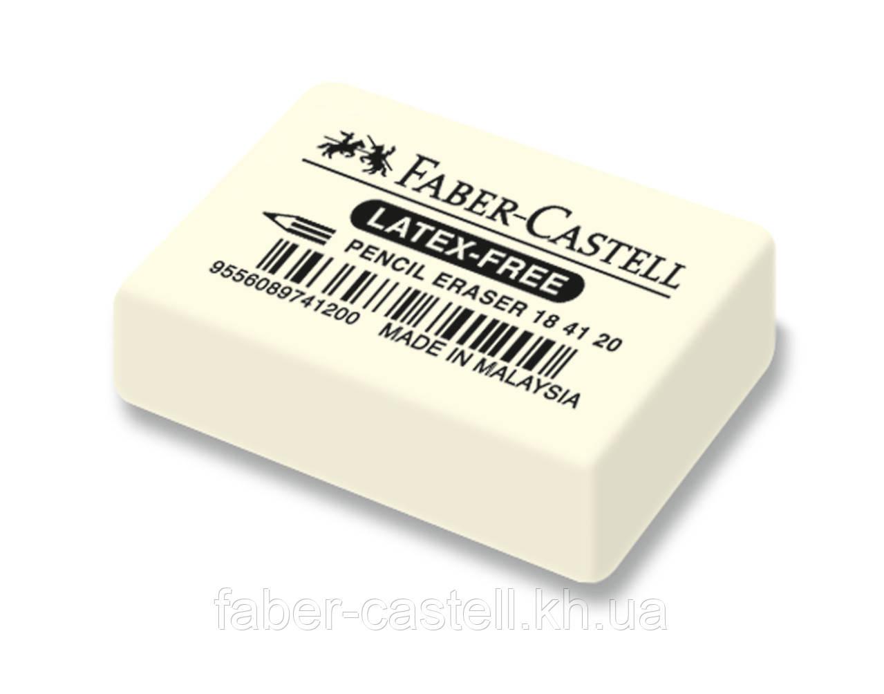 Ластик Faber-Castell  7041-20 каучуковый белый, 184120