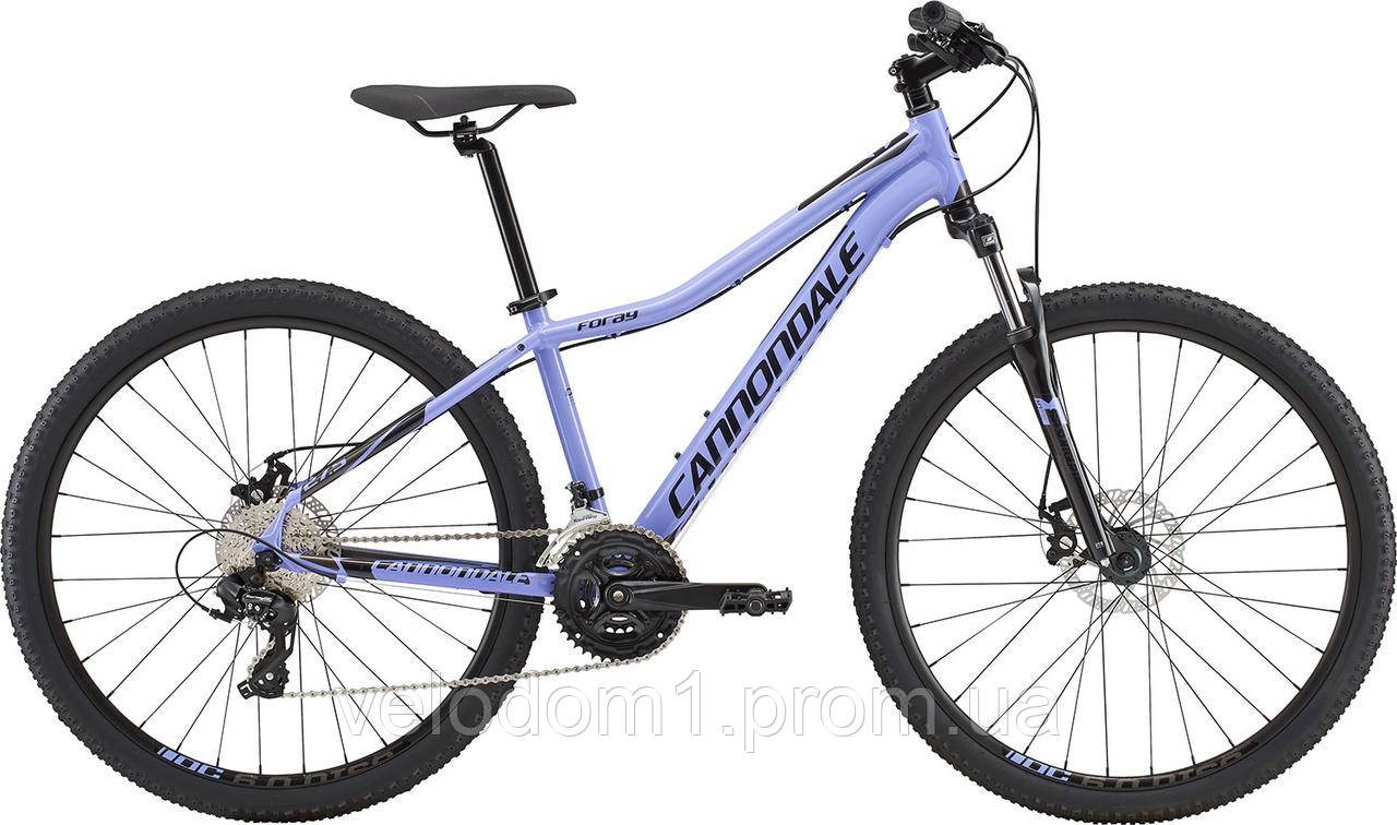 "Велосипед Cannondale 27,5"" Foray 3 VTN fiol 2018"