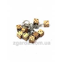 Брелок для ключей в виде кубиков
