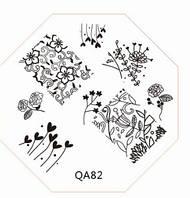 Диск для стемпинга серии QA №82
