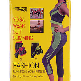 Костюм для Йоги Yoga sets Фитнеса, Бега, Спорта, Лосины