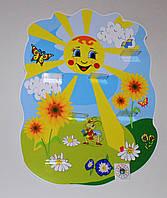 Подставка для лепки Солнышко 3 Подсолнушки