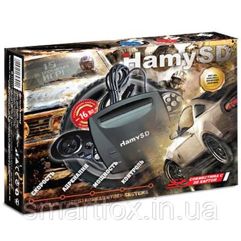 """Игровая приставка 16-bit + SD card """"Hamy 3"""" ЧЕРНАЯ, фото 2"""